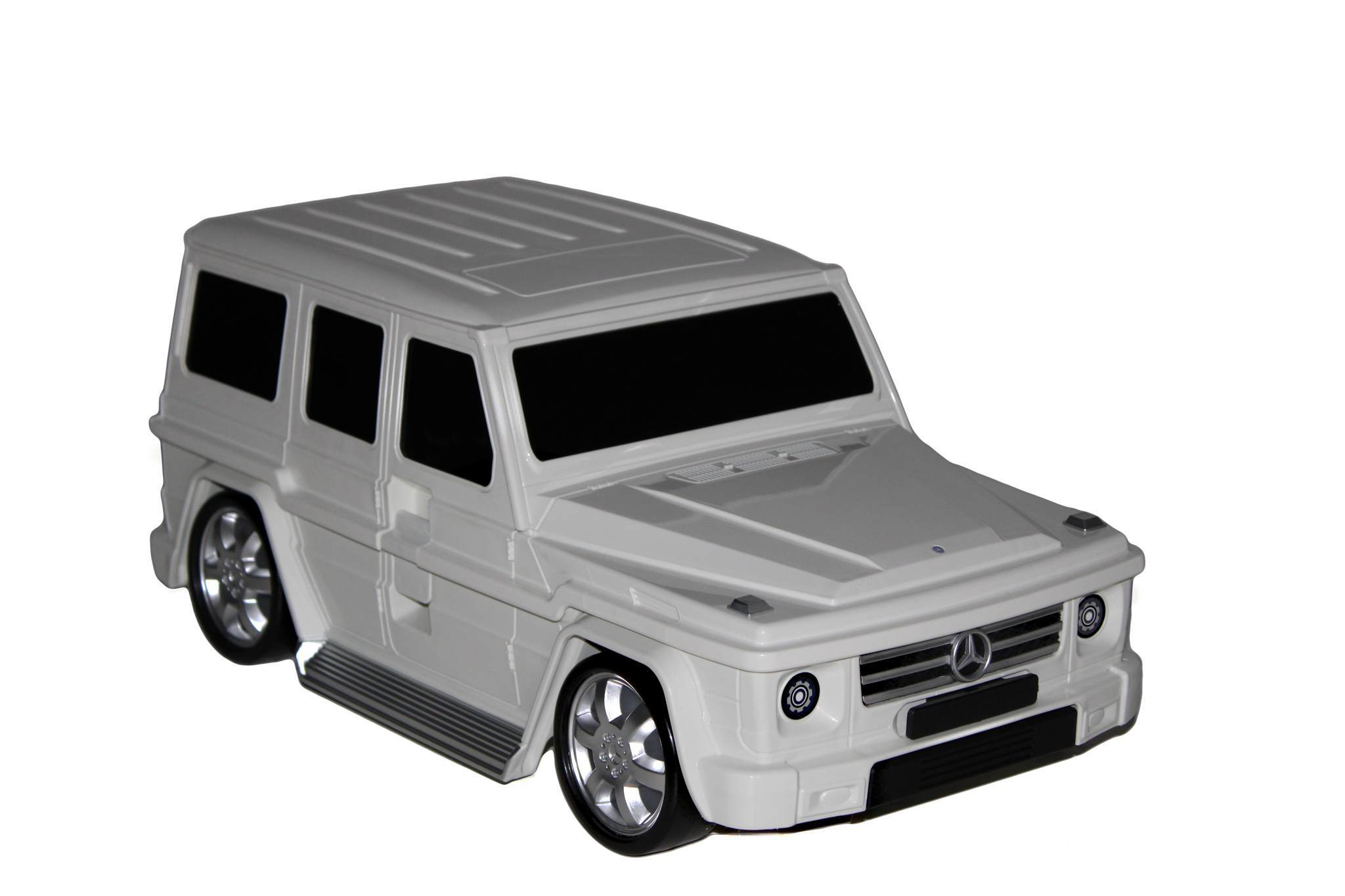Детский чемодан Mercedes-Benz Gelandewagen Белый