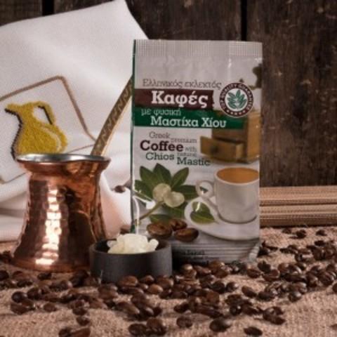 Греческий кофе молотый с мастикой