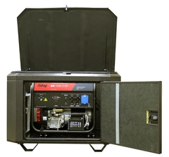 Готовый комплект аварийного питания на 5 кВт бензиновый генератор FUBAG BS5500A ES в еврокожухе SB1200 с АВР (блоком автоматического ввода резерва)