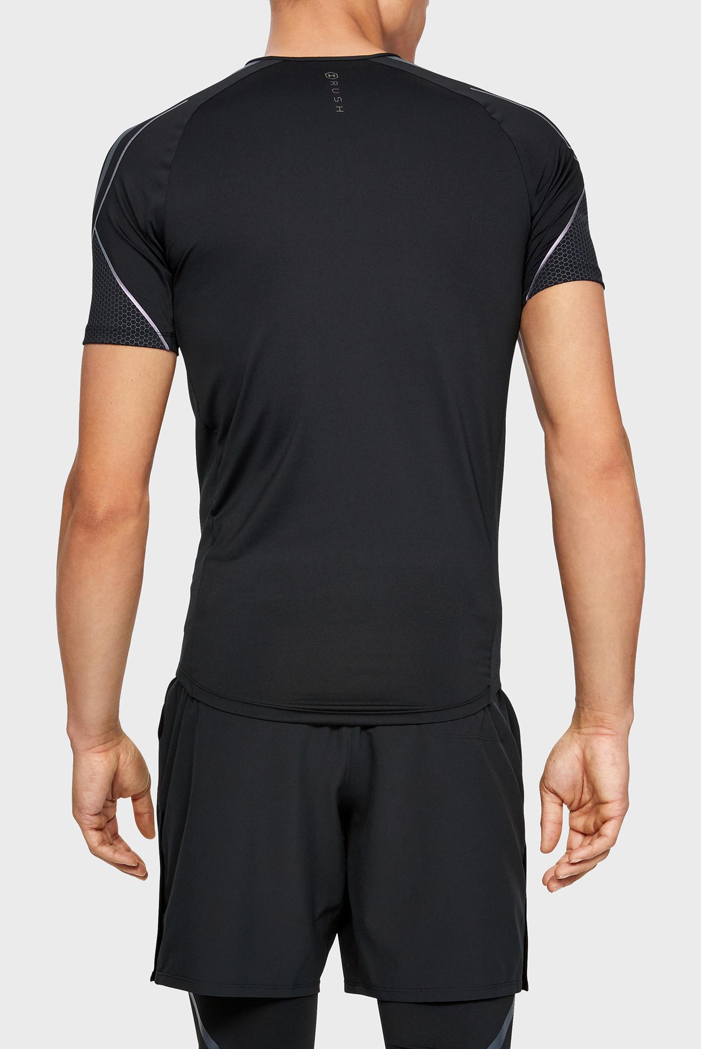 Мужская черная футболка Rush Graphic SS Under Armour