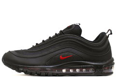 Кроссовки Женские Nike Air Max 97 All Black Red