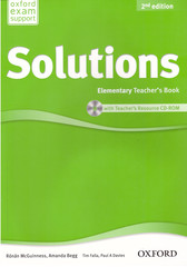 Solutions (2nd edition) Elementary: Teacher's Book and CD-ROM Pack