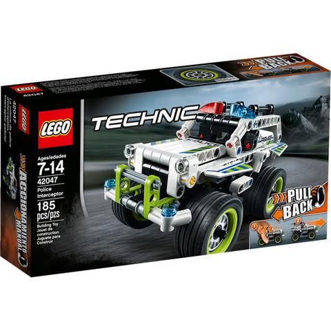 LEGO Technic: Полицейский патруль 42047 — Police Interceptor — Лего Техник