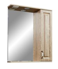 Зеркало-шкаф Stella Polar Кармела 65/С, карпатская ель