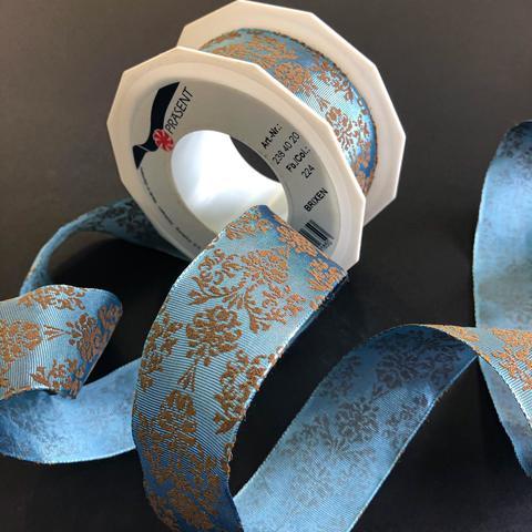 Лента Бриксен голубая