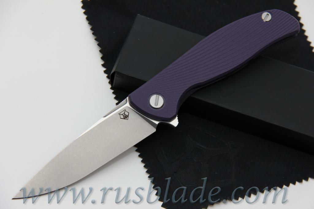 CUSTOM Shirogorov M390 HATI CLUB KNIFE MRBS