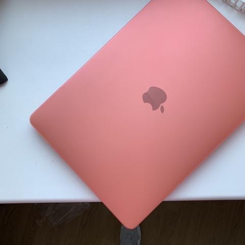 Накладка пластик MacBook Air 11.6 /matte pink/ DDC