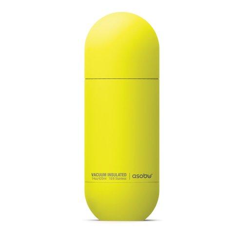 Термос-бутылка Asobu ORB (0,42 литра), желтая