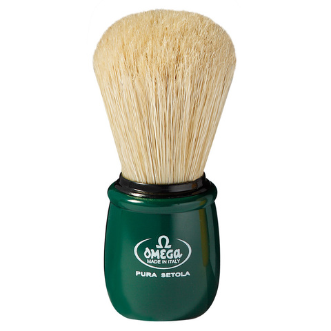 Помазок для бритья Omega натуральный кабан 10051
