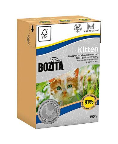 Bozita Feline Function Kitten консервы для котят, молодых, беременных и кормящих кошек 190г