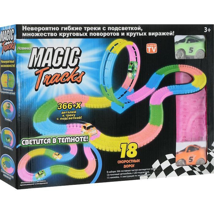 Товары для детей Трасса Magic Tracks «Мертвая петля» 366 деталей Magic_Tracks_366.jpg