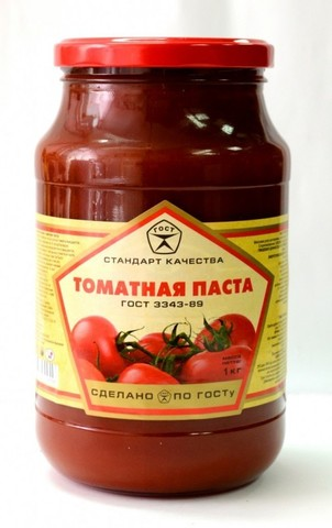 "Томатная паста ""Сава"" 25% 250г"