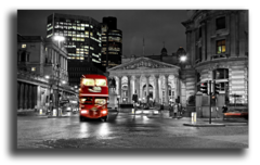 """Постер """"Черно-белый лондон"""""""