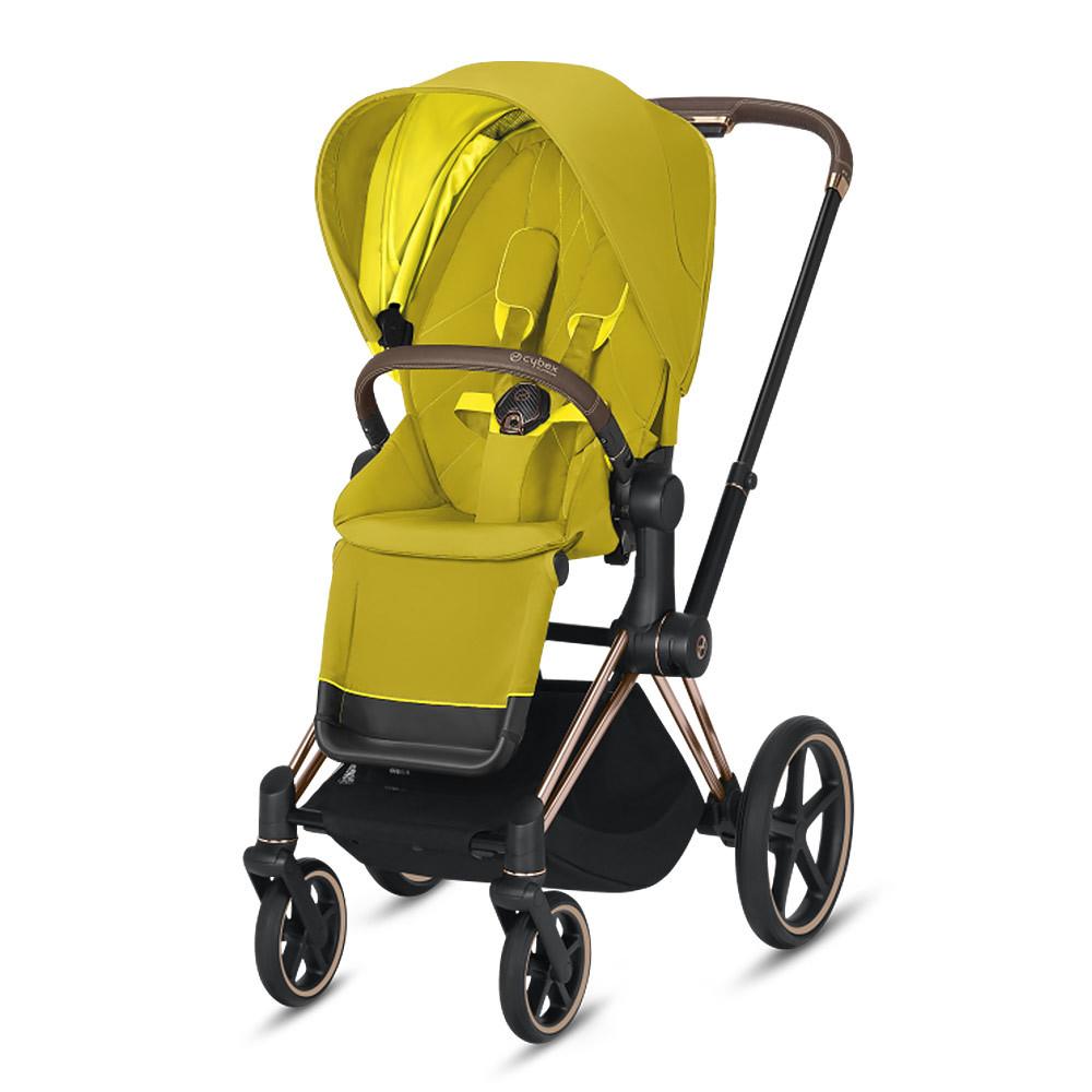 Прогулочная коляска Cybex Priam III 2020 Прогулочная коляска Cybex Priam III Mustard Yellow Rosegold cybex-priam-III-mustard-yellow-rosegold-2020.jpg
