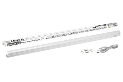 Светильник LED ДПО 2001 10 Вт, 6500К, IP40, Народный