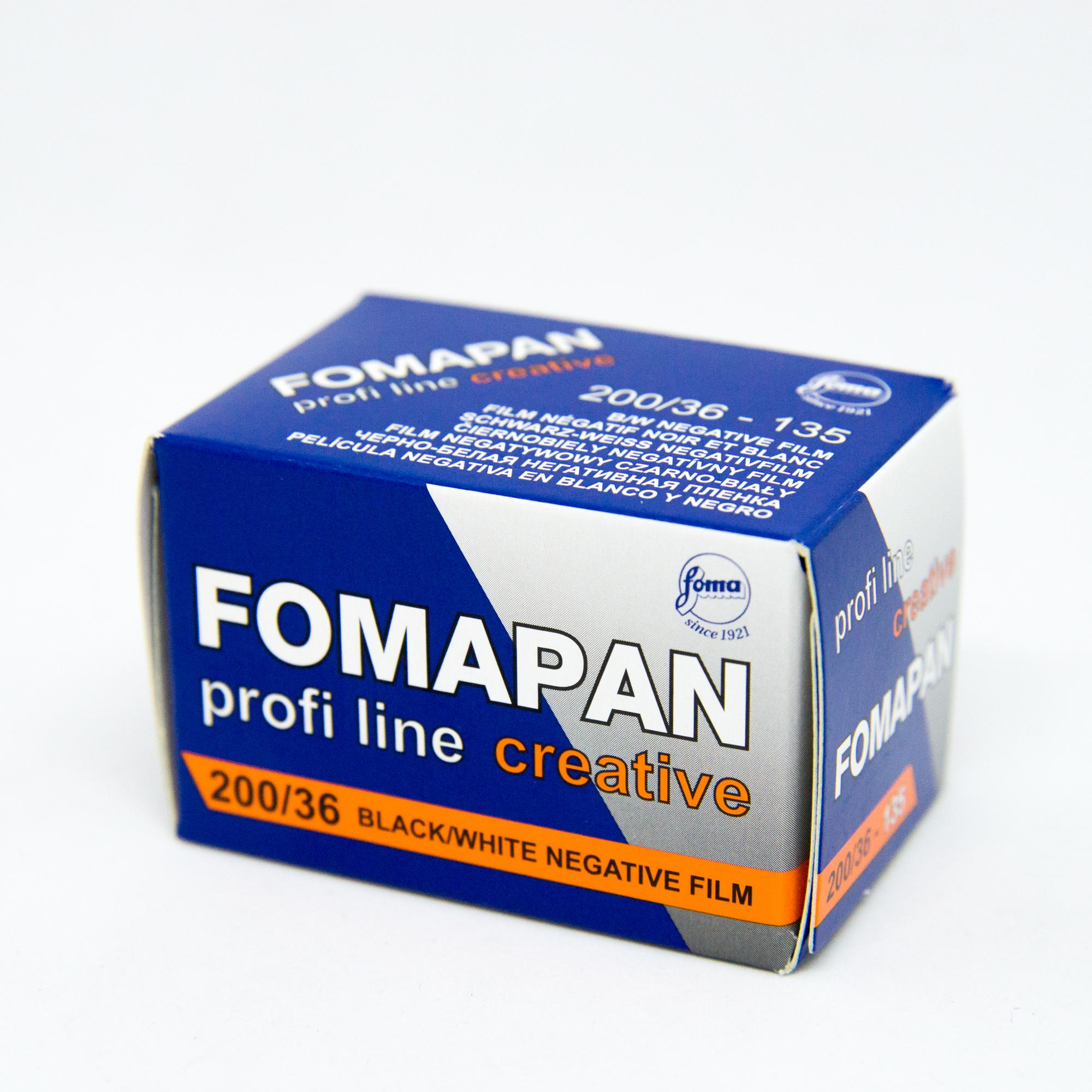 Фотопленка Foma Fomapan 200 Creative /135-36