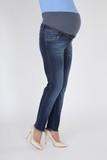 Джинсы для беременных (SLIM) 09176 синий