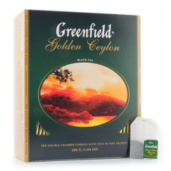 Чай чёрный Greenfield Golden Ceylon 100*2г