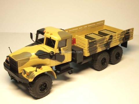KRAZ-255 board camouflage with ammunition Agat Mossar Tantal 1:43