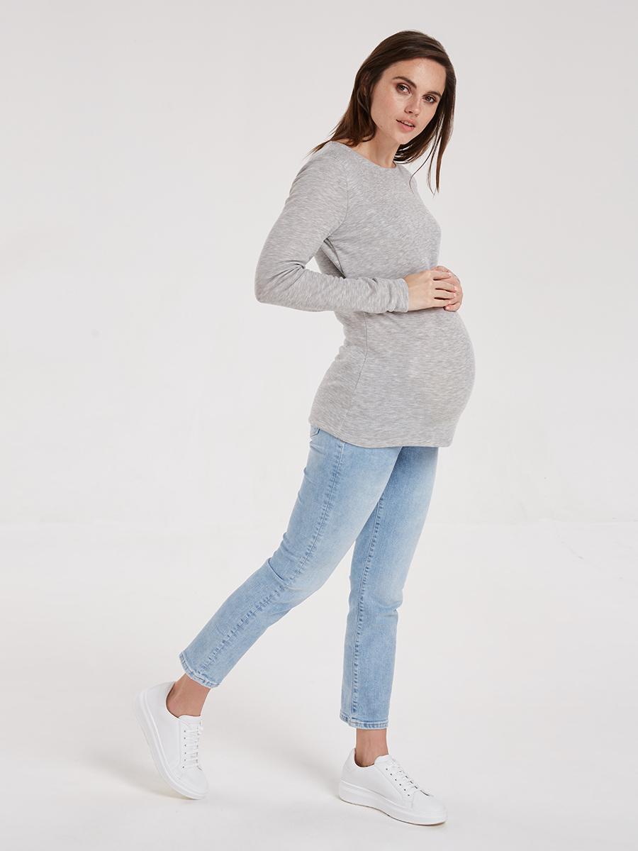 Термофутболка для беременных и кормящих - Фото 3