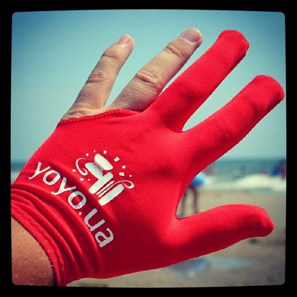 Перчатка для игры с йо-йо