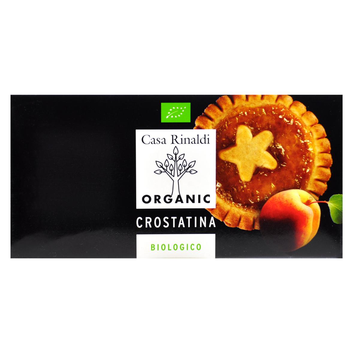 Печенье Casa Rinaldi Кростатине с абрикосом BIO 192 г