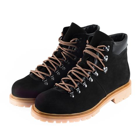 680478 ботинки мужские черные. КупиРазмер — обувь больших размеров марки Делфино