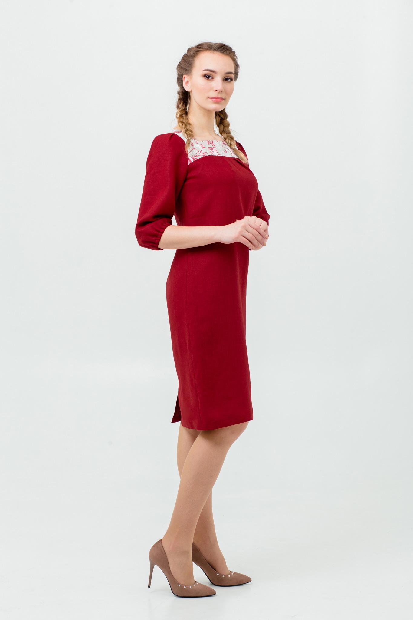 Платье русское народное Сладкая брусника