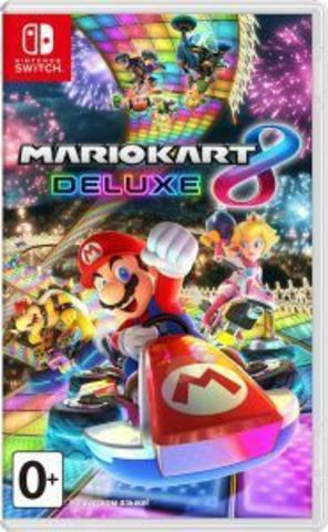 Mario Kart 8 Deluxe (NEW) (Nintendo Switch, русская версия)