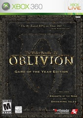 Xbox 360 The Elder Scrolls IV: Oblivion - Game of the Year Edition (Xbox 360 - Xbox One, английская версия)