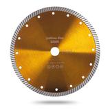 Алмазный турбо диск Messer Yellow Line Beton. Диаметр 125 мм.