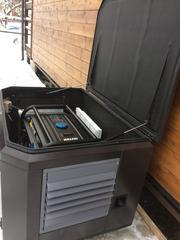 Готовый комплект аварийного питания на 5 кВт бензиновый генератор HUTER в еврокожухе SB1200 с АВР (блоком автоматического ввода резерва)