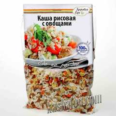 Каша рисовая с овощами 'Здоровая еда', 100г