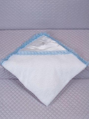 Крыжма для крещения махровая голубая