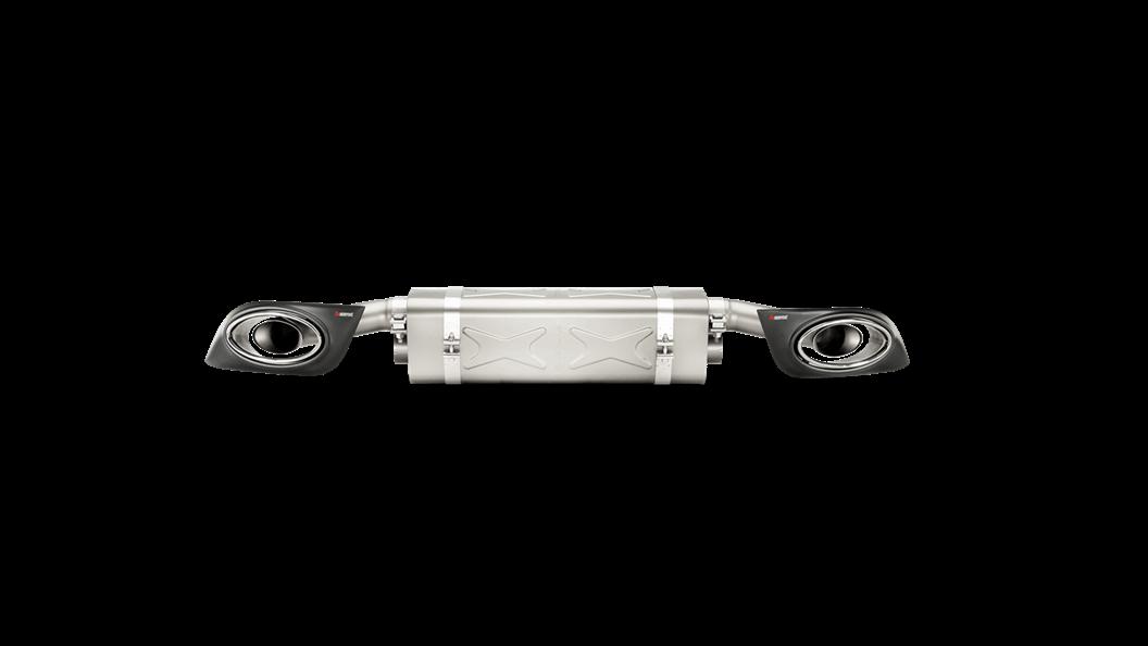 Выхлопная система AKRAPOVIC для  PORSCHE 991 Turbo и Turbo S