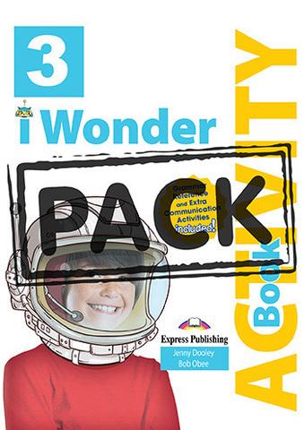iWonder 3 Activity Book (with Digibooks App) - рабочая тетрадь с электронным приложением