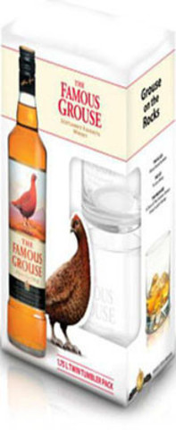 Виски The Famous Grouse, witch 2 glass, 0.7 л