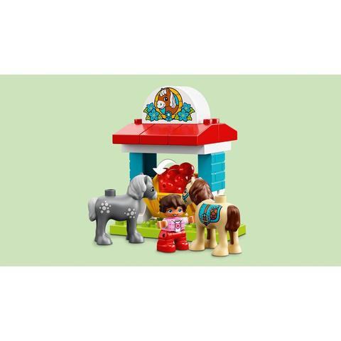 LEGO Duplo: Конюшня на ферме 10868 — Farm Pony Stable — Лего Дупло
