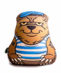 Подушка-игрушка антистресс «Медведь-вдвшник» 1