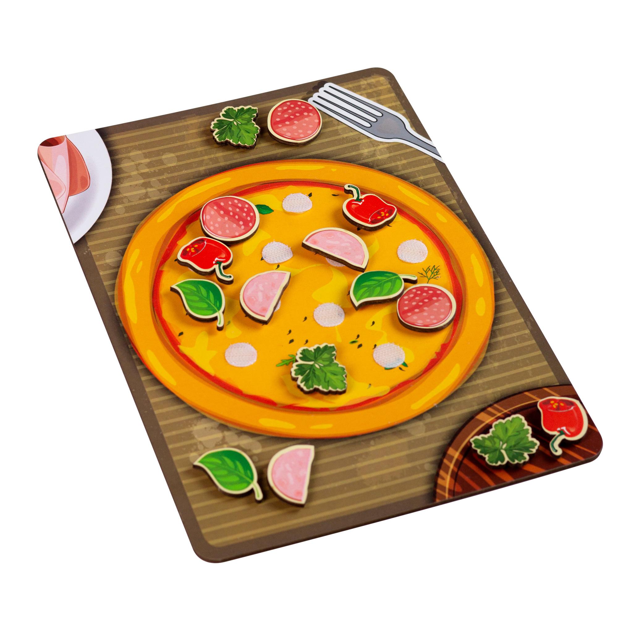 Липучка «Пицца с колбасой»