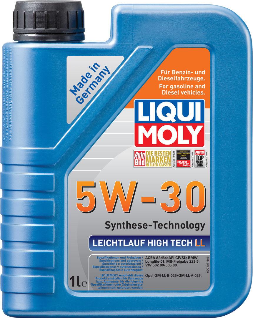 Liqui Moly Leichtlauf High Tech LL 5W-30 - НС-синтетическое моторное масло