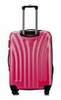 Чемодан с расширением L'case Phuket-24 Розовый (M+)