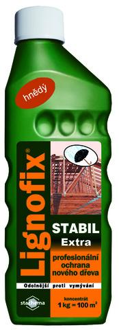 Профилактический антисептик для древесины Lignofix Stabil Extra, концентрат, коричневый
