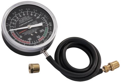 AR020019 Универсальный прибор для измерения давления топливной магистрали. Вакуумметр