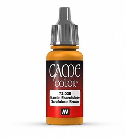 Game Color Scrofulous Brown 17 ml.