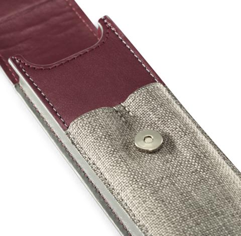 *Подарочный набор: Чехол под ручку и Ручка-5й пишущий узел Ingenuity S F501, цвет: Pearl PGT123