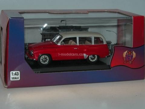 Wartburg 311-1 Kombi red-white 1962 IST010 IST Models 1:43