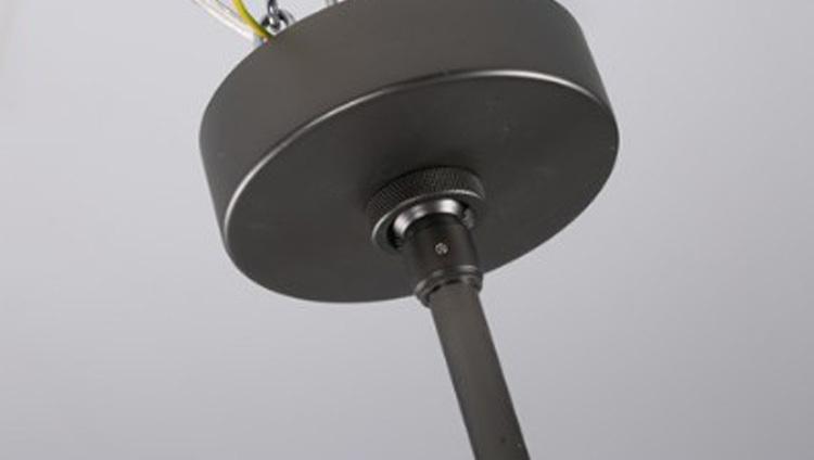 Потолочный светильник копия AGNES by Roll & Hill (14 плафонов, черный)
