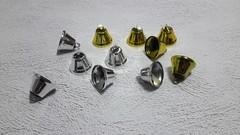 Колокольчики для творчества, 1 шт, металлические.