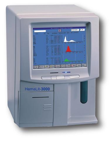 Гематологический анализатор HEMALIT 3000 (60 тестов/час)Китай, URIT Medical Electronic Co., Ltd